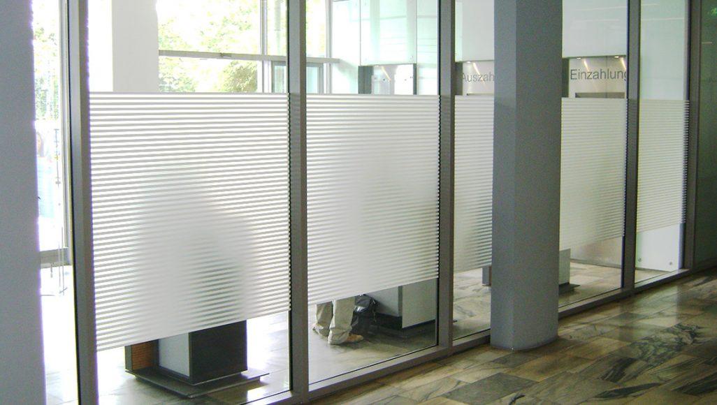 ContraSOL-Sichtschutz mittels Doppelbeschichtung