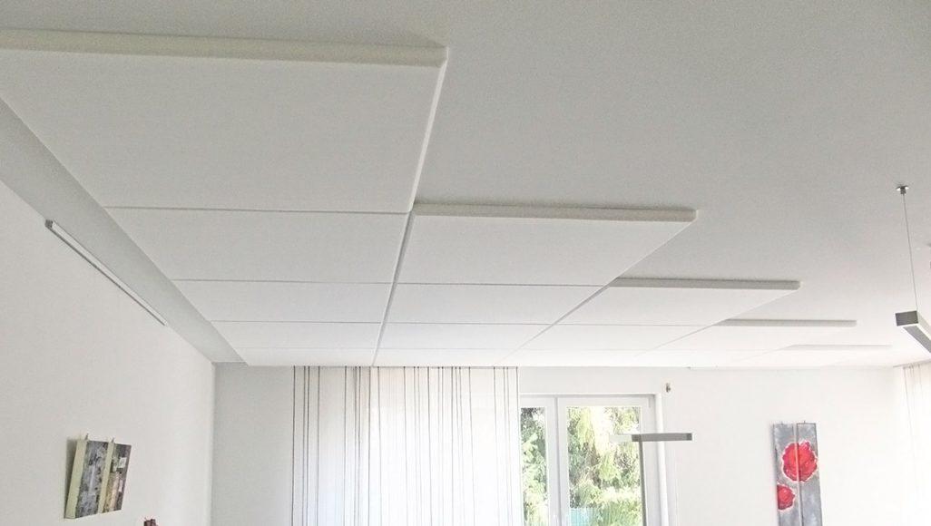 Dekor-Absorber 1000 x 1000 mm, weiß