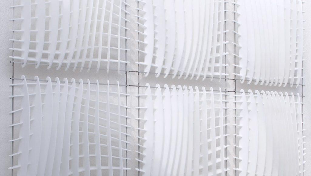 Wave-Absorber vertikal