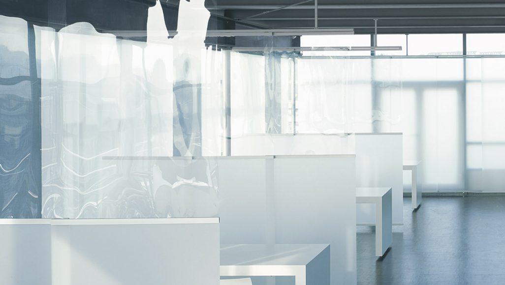 Akustikvorhänge transparent