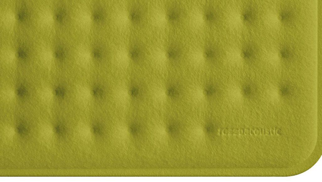 AcousticPAD in Farbe Soft Moss, Foto: Frank Ockert
