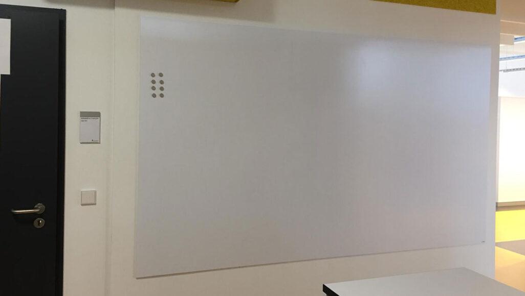 Whiteboardfolie weiß matt + magnethaftend